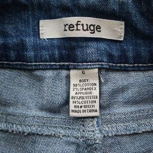 Charlotte Russe Shorts - American flag refuge shorts